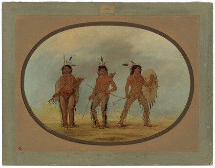 Three Cheyenne Warriors