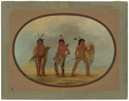 Three Cheyenne Warriors