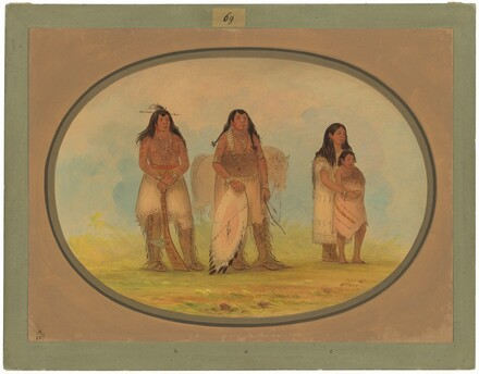 Four Kiowa Indians