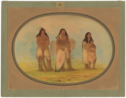 Four Kiowa Indians