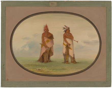Two Unidentified North American Indians