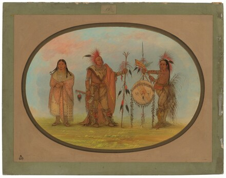 Two Saukie Chiefs and a Woman
