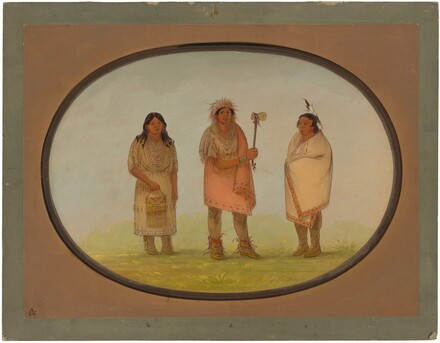Three Piankeshaw Indians