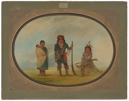 Three Micmac Indians