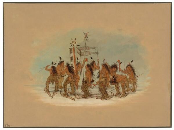 Snow Shoe Dance - Ojibbeway