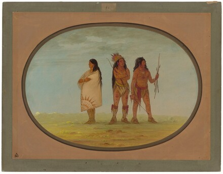 Three Navaho Indians