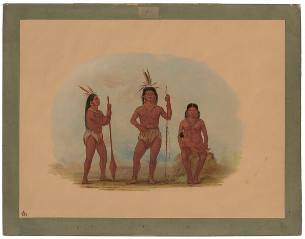 Klahoquaht Chief, His Wife, and Son