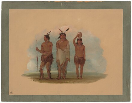 Three Walla Walla Indians