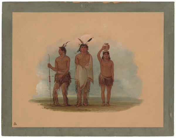 Three Walla Walla Indians