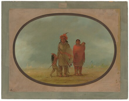 Copper Chief, His Wife, and Children