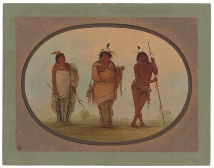 Three Yumaya Indians