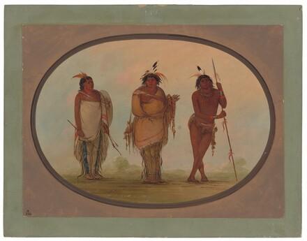 Three Yumaya Indians