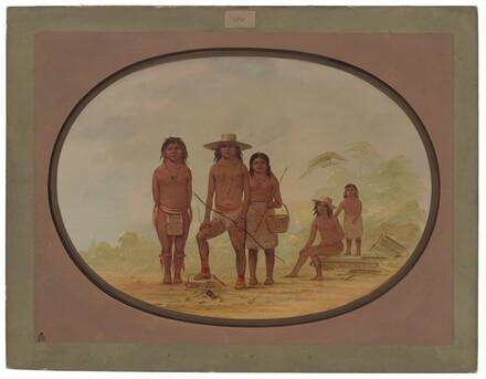 Five Maya Indians