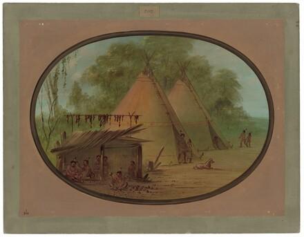 Making Flint Arrowheads - Apachees