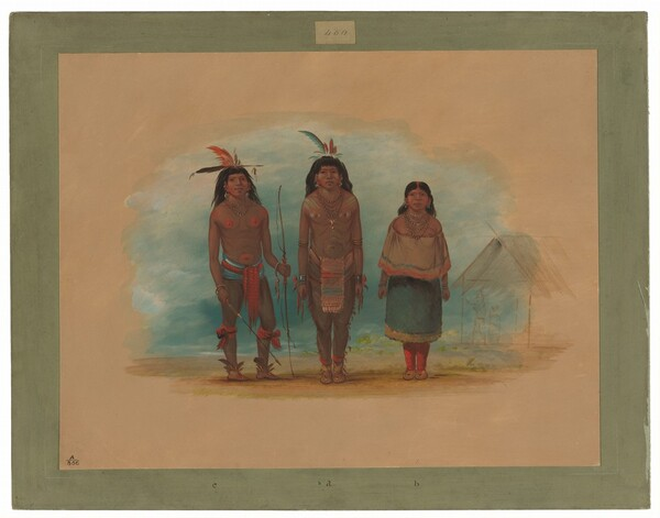 Three Taruma Indians