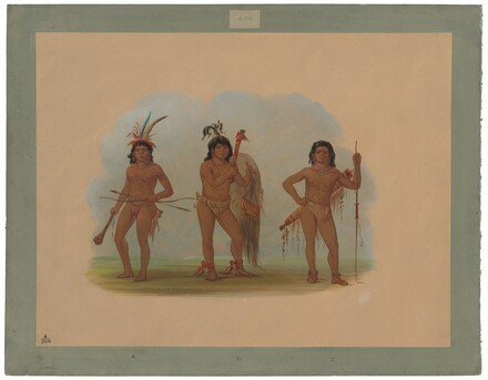 Three Zurumati Indians