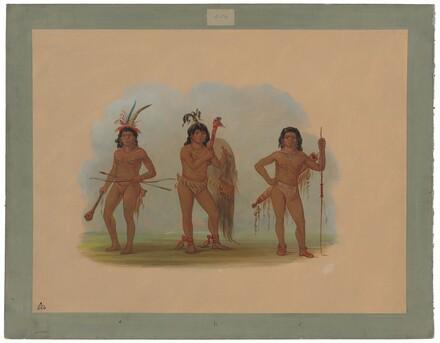 Three Zurumati Indians