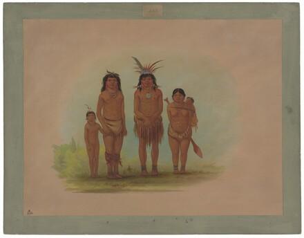 Four Sepibo Indians