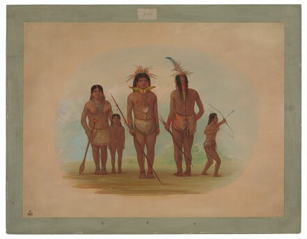 Five Iquito Indians