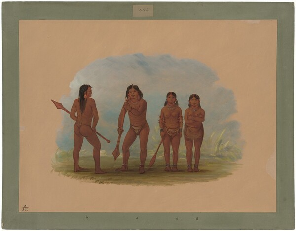 Four Angustura Indians