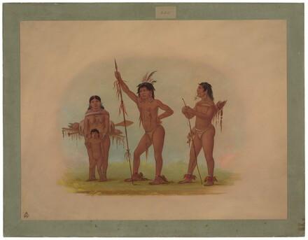 Four Mura Indians