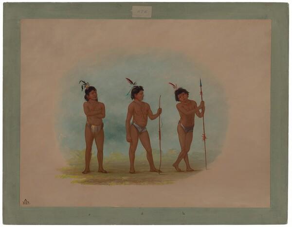 Three Auca Children