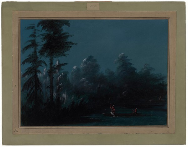 Spearing by Moonlight - Chaco