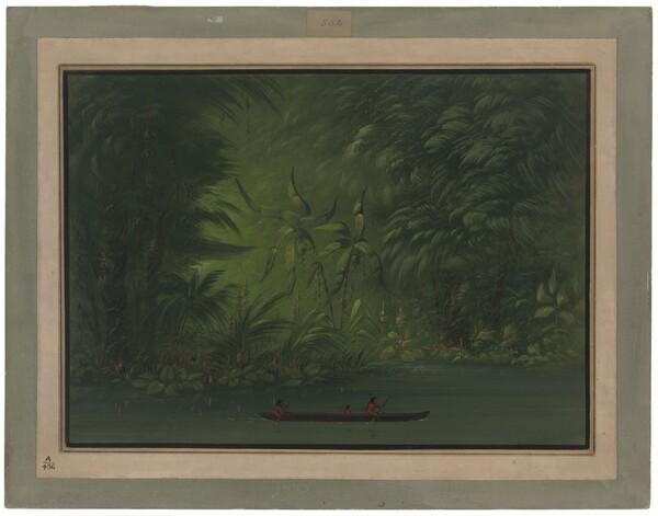 Entrance to a Lagoon, Shore of the Amazon