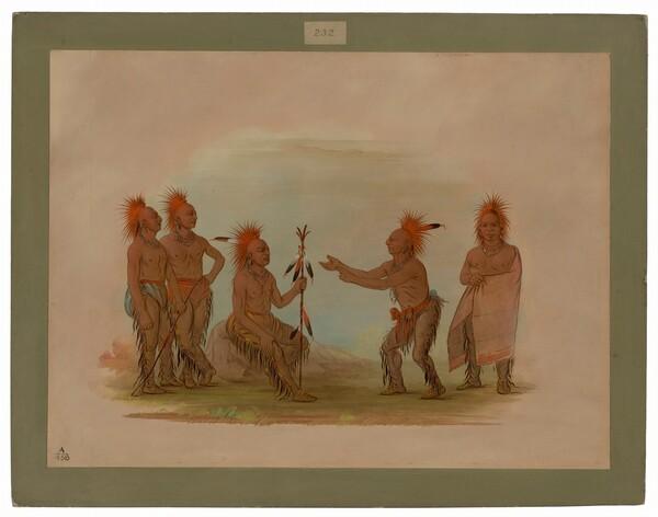 Black Hawk and the Prophet - Saukie