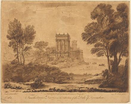 Landscape No. 162 from Liber Veritatis