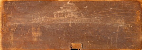 Sketch for Ohio State Capitol Design