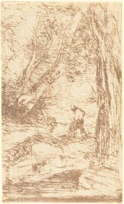 The Woodcutter of Rembrandt (Le Bucheron de Rembrandt)