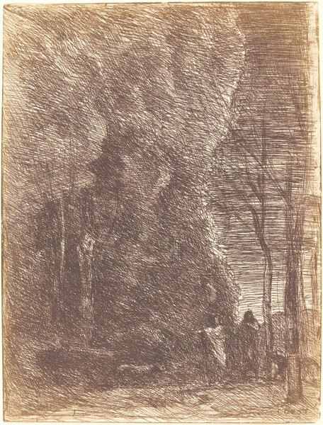 Dante and Virgil (Dante et Virgile)