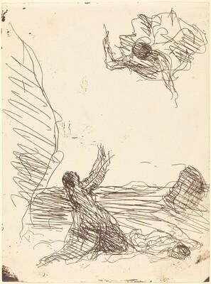Hagar and the Angel (Agar et l'ange)