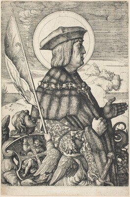 Emperor Maximilian I in the Guise of Saint George