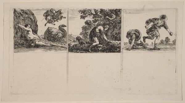 Perseus and Andromeda; Cephalus and Procris; Hippomene and Atalantus