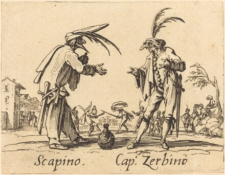 Scapino and Cap. Zerbino