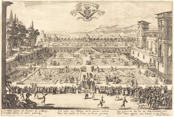 The Palace Gardens at Nancy