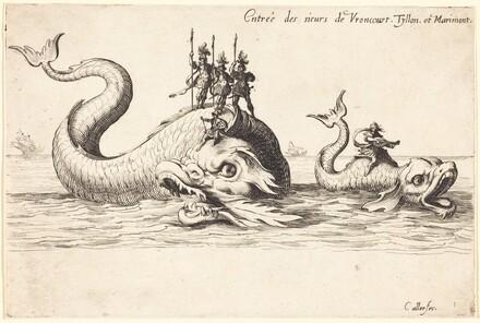 Entry of Mm. de Vroncourt, Tyllon, and Marimont