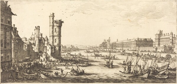 View of the Louvre