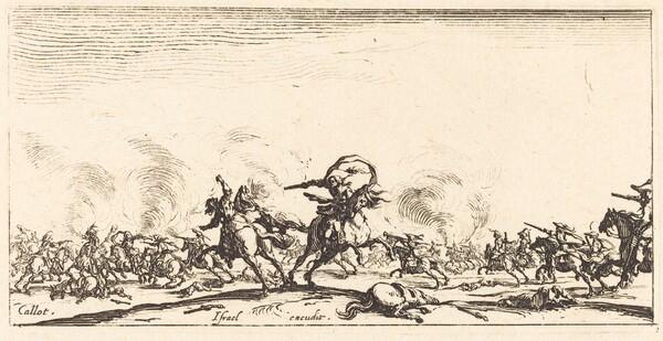 The Cavalry Combat with Pistols