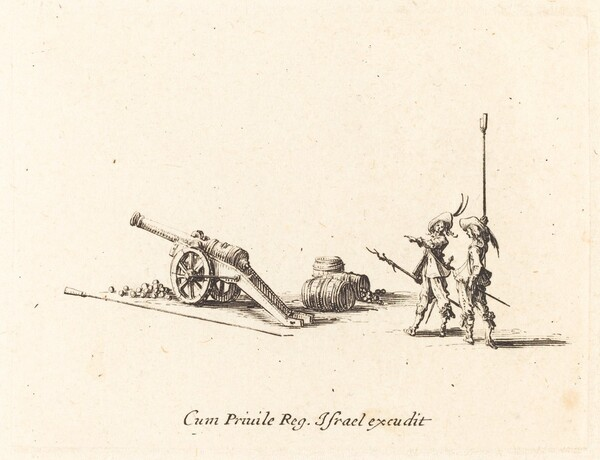 Preparing to Fire the Cannon