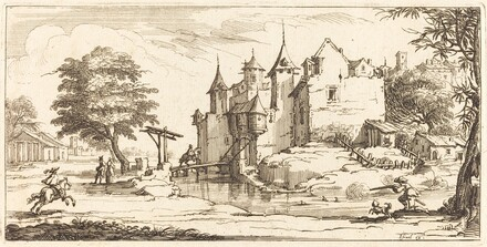 Chateau with a Drawbridge