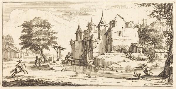 Chateau with a Drawbridge