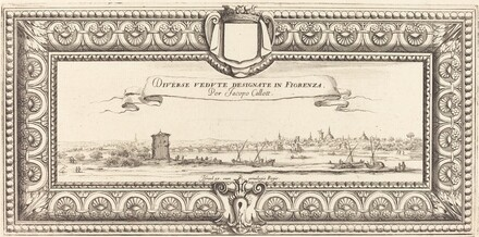 Title Page for Callot's Various Italian Landscapes