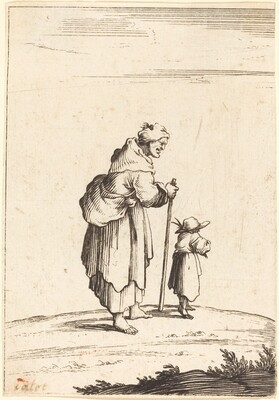 Beggar Woman and Child