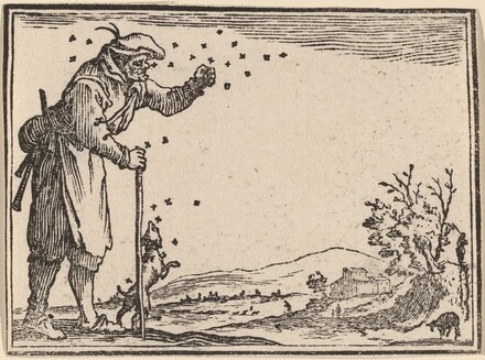 Peasant Attacked by Bees
