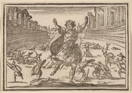 Skirmish in a Roman Circus
