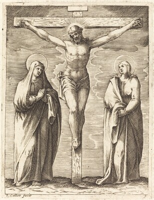Virgin and Saint John at the Foot of the Cross