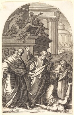 Sapphira Punished by Death